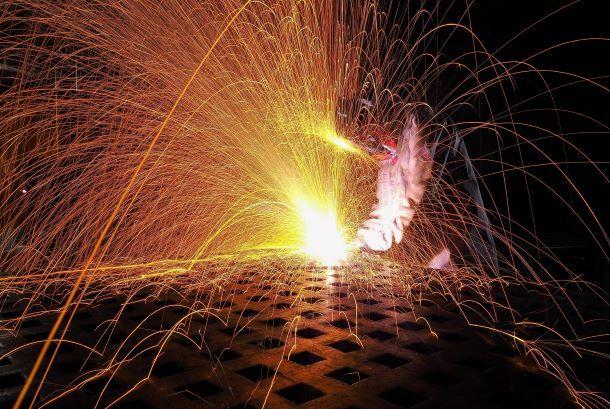 Metallgnister